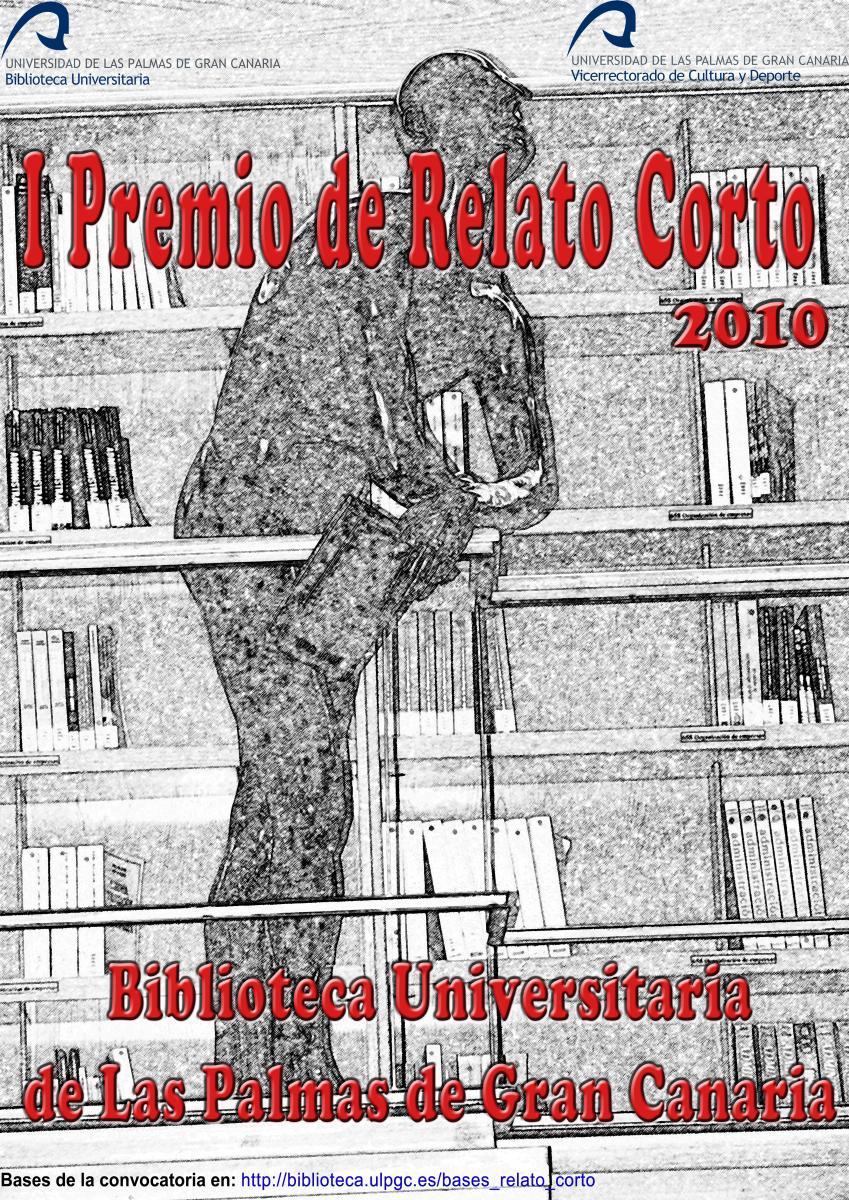 Cartel del I Premio de relato corto sobre vida universitaria