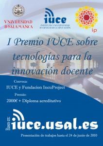I Premio IUCE sobre tecnologías para la innovación docente