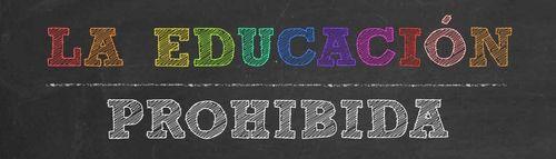 Logo del proyecto 'La educación prohibida'