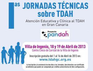 I Jornadas Técnicas sobre TDAH en Gran Canaria