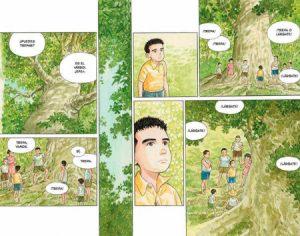 """""""El bosque milenario"""", de Jiro Taniguchi"""