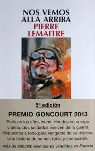 """""""Nos vemos allá arriba"""", de Pierre Lemaitre"""
