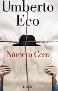 """Número cero"", de Umberto Eco"