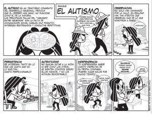 Cómic del autismo